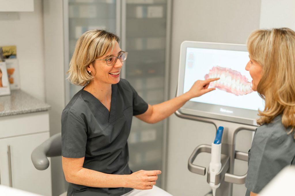 Behandlungsplanung mit dem iTero® Intraoralscanner