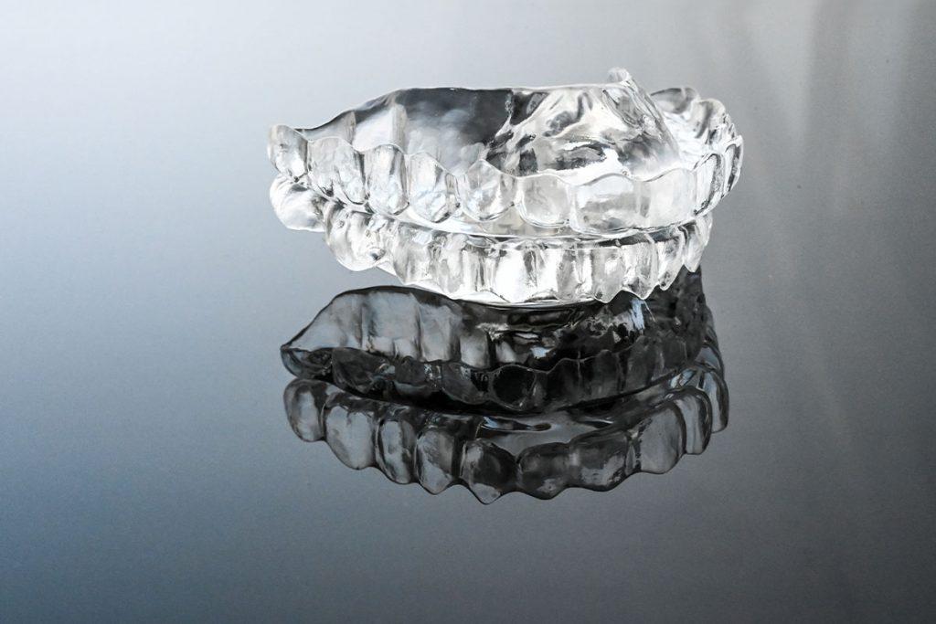 Eine TAP Schnarchschiene für Schnarchtherapie
